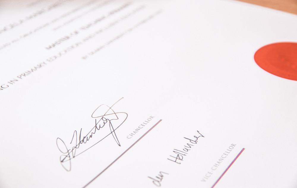 waxing certificate