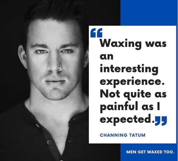 waxing poster
